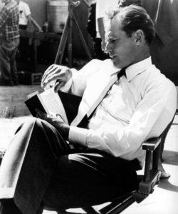 Charlton Heston reading