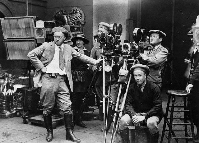 Cecil B. DeMille in 1920. Bizarre Los Angeles