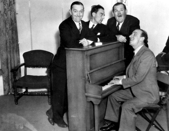 Stan Laurel Buster Keaton Oliver Hardy Jimmy Durante