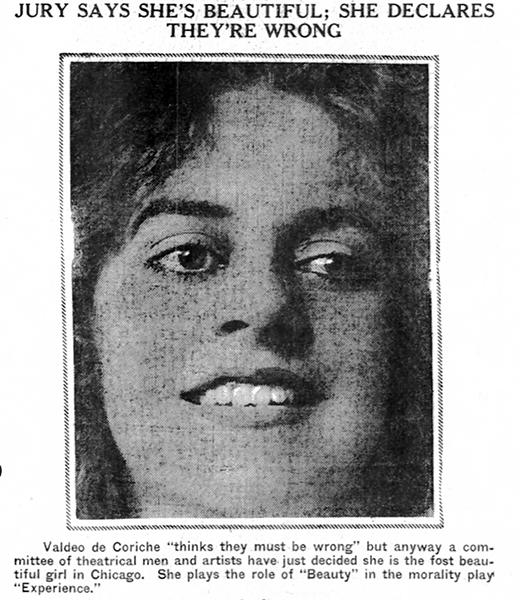 Valdeo de Coriche Parker Lord 1916