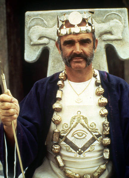 """""""Frankly, I don't like to wear a bloody wig. If the role requires one, I'll put the damn thing on, but I would prefer to be natural. Fortunately, I don't need a wig in this part."""" -- Sean Connery (Bizarre Los Angeles)"""
