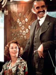 """Vanessa Redgrave and Sean Connery in """"Murder on the Orient Express"""""""
