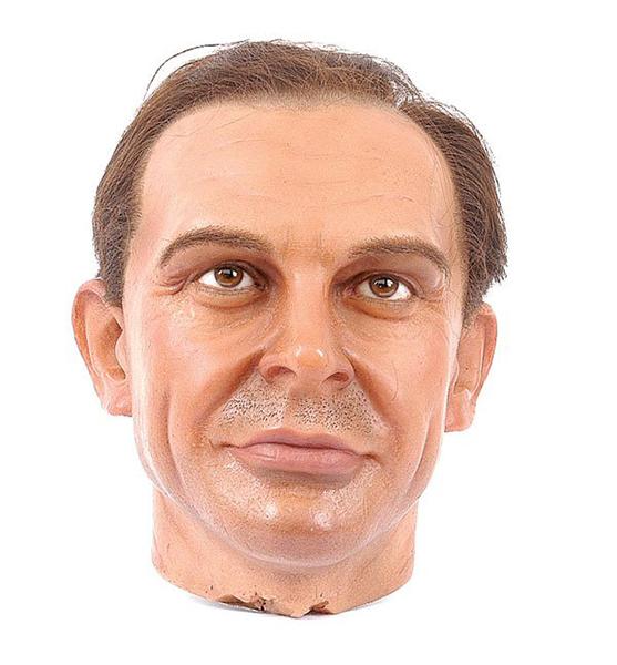 Sean Connery Wax head