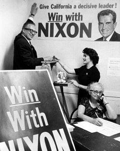 Vote for Nixon 1962