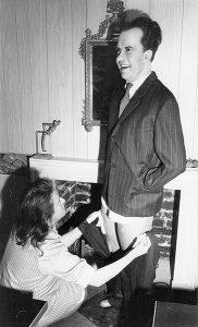 Nixon wax figure