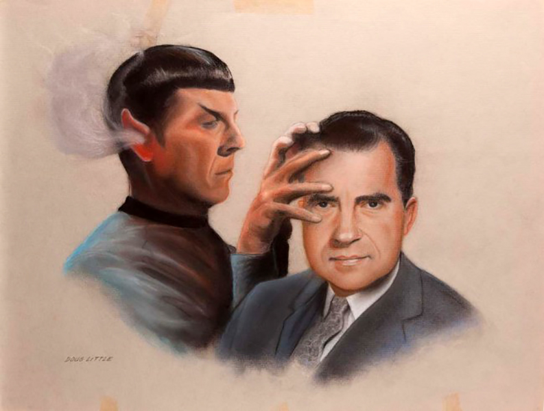 Mr. Spock Richard M. Nixon