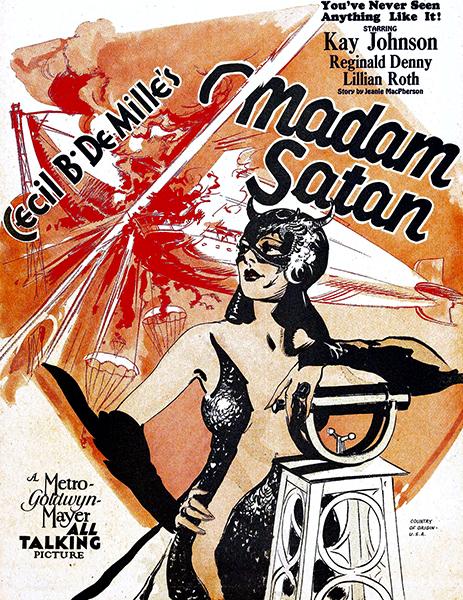 Madam Satan Cecil B DeMille Kay Johnson
