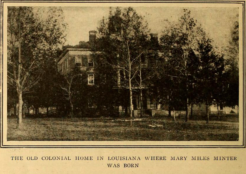 Mary Miles Minter's childhood home in Louisiana. (Bizarre Los Angeles)