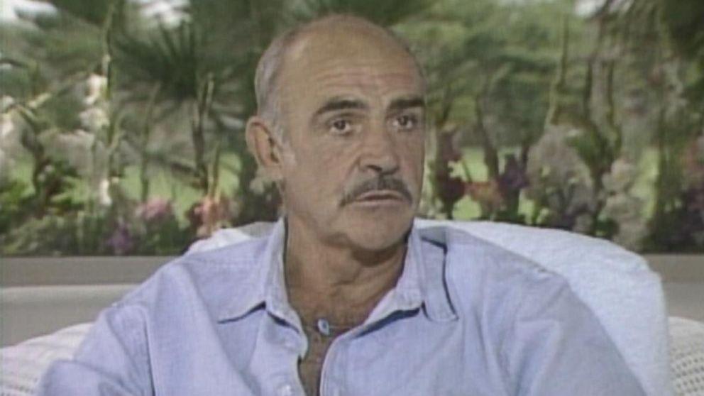 Sean Connery in 1987. (Bizarre Los Angeles)