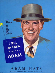 Adam Hats 1940s