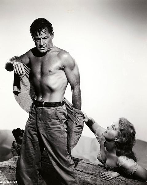 "William Holden and Kim Novak in ""Picnic"" (1956). Bizarre Los Angeles"