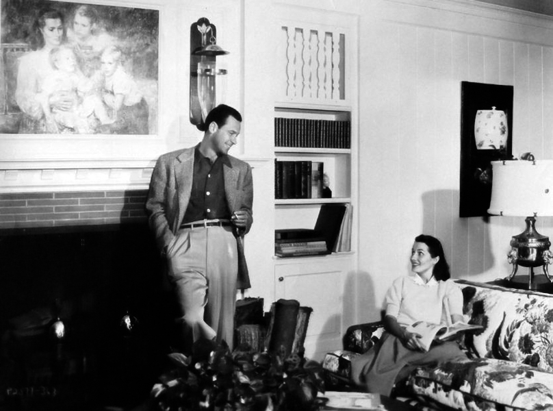William Holden Brenda Marshall candid