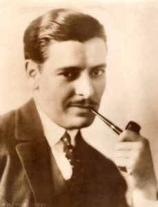 Ronald Colman pipe