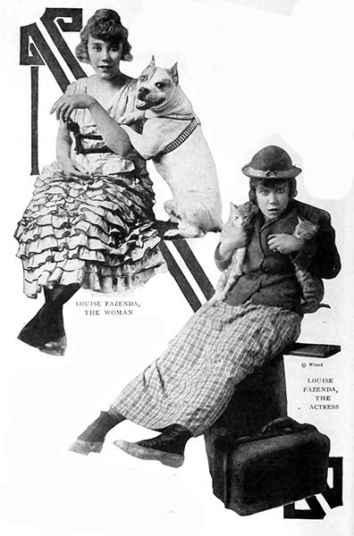 Louise Fazenda 1917