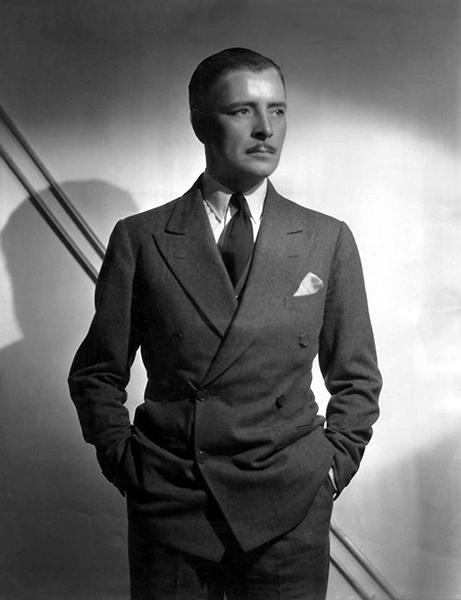 Ronald Colman suit