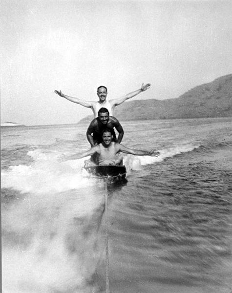 William Powell Ronald Colman Catalina Island