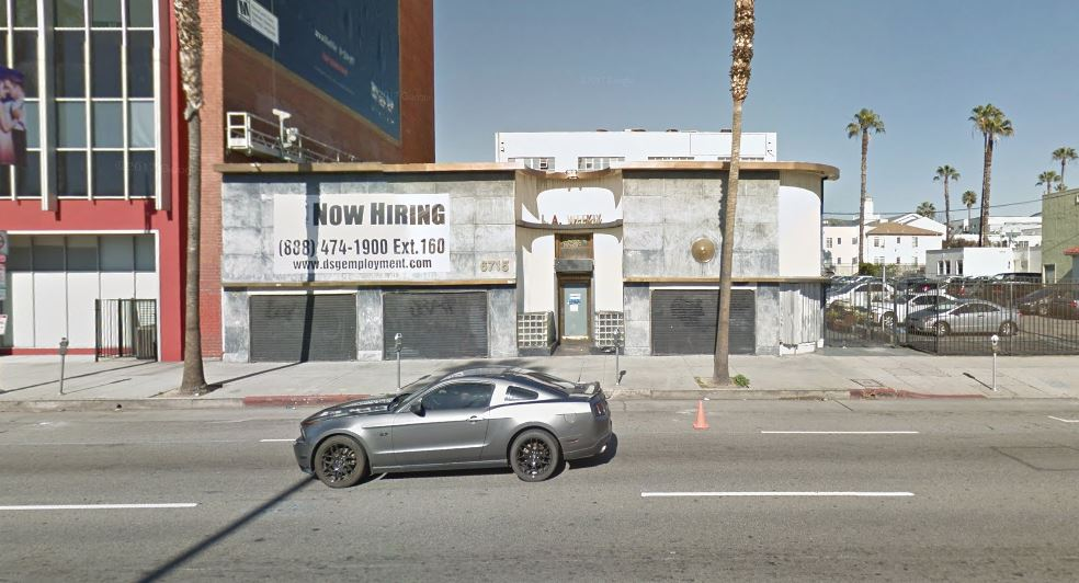 Haunted hollywood reporter building 6715 sunset blvd for Haunted hotels in los angeles ca