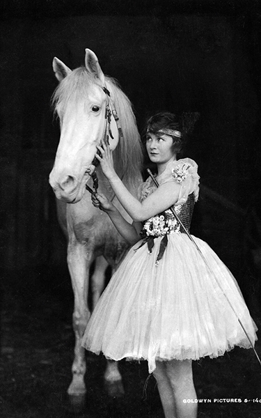 """Mae Marsh in """"Polly of the Circus"""" (1917) Bizarre Los Angeles"""