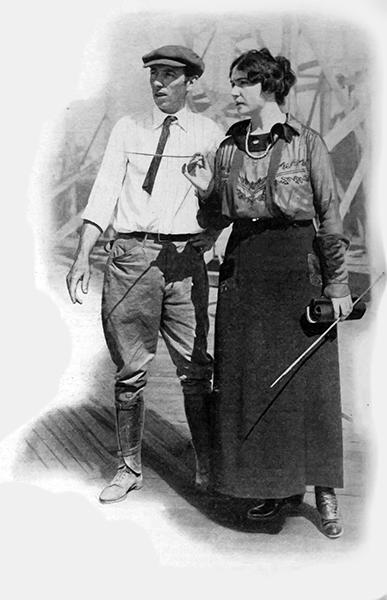 Lois Weber directing 1917
