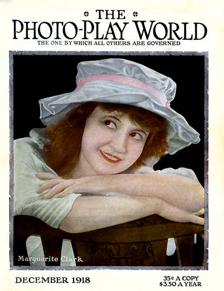 Marguerite Clarke Photo-Play World 1918 (Bizarre Los Angeles)