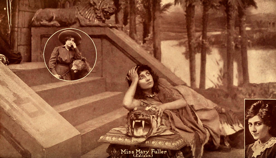 Mary Fuller as Cleopatra