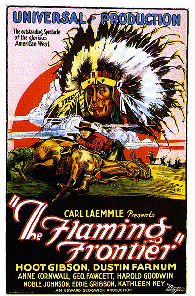 The Flaming Frontier (1926). Bizarre Los Angeles.