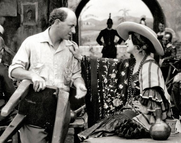 Carmen Cecille B DeMille Geraldine Farrar