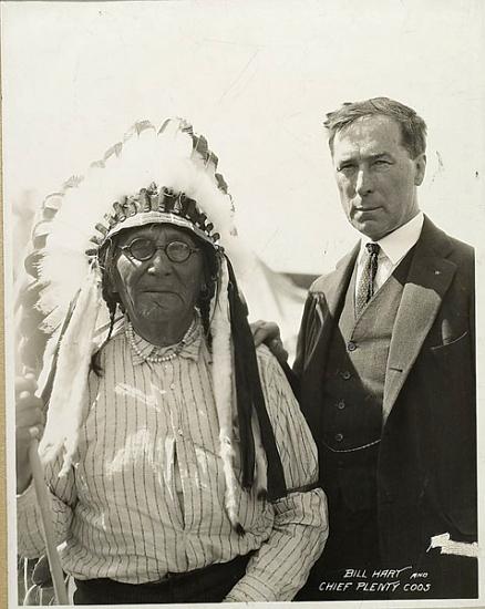 William S Hart Native American