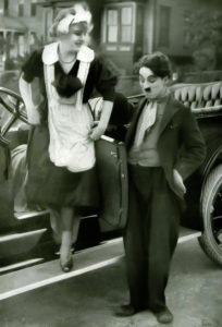 Edna Purviance Charles Chaplin