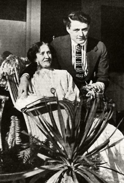 J. Warren Kerrigan and mother
