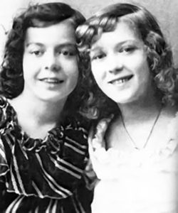 Lottie and Mary Pickford