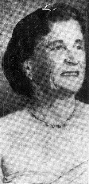 Mae Marsh: older. Bizarre Los Angeles