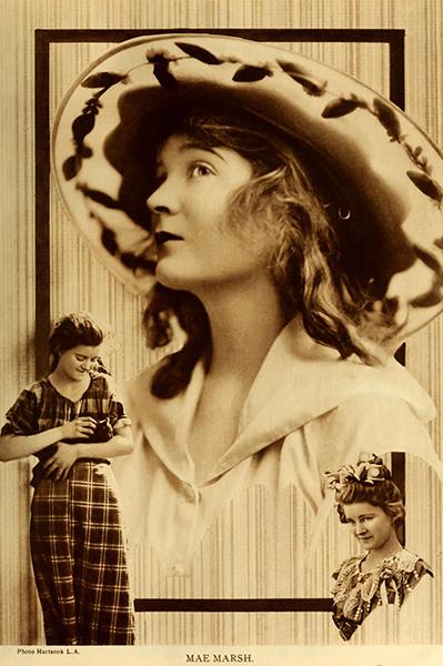 Mae Marsh Collage