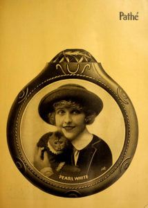 """Pearl White in """"The Fatal Ring"""" (1917). Bizarre Los Angeles"""