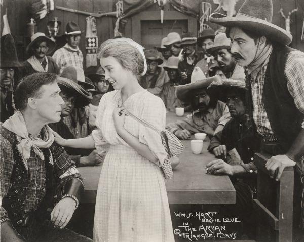 The Aryan Bessie Love William S Hart