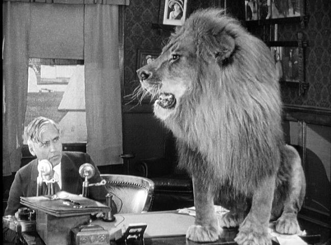 Mack Sennett Lion