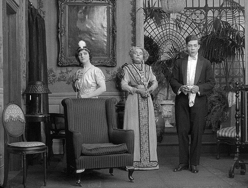Nellie Grant, Arthur Housman, and Alice Washburn in Jack's Joke (1913)