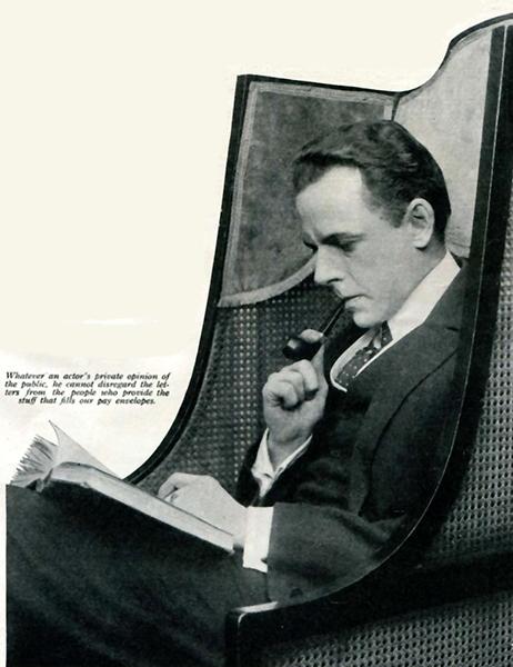 Edward Earle reading