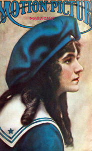 Viola Dana on the cover of Motion Picture Magazine, Aug. 1915. (Bizarre Los Angeles)