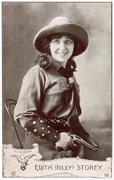Edith Storey cowgirl