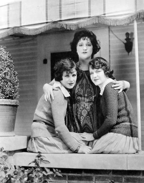 Shirley Mason, Edna Flugrath and Viola Dana c. 1923