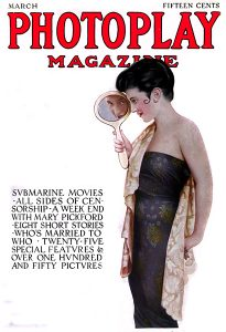 Helen Holmes on the cover of Photoplay Magazine (Bizarre Los Angeles)