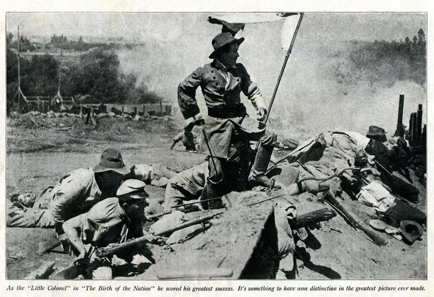 BLA Photoplay the birth of a nation Henry B Walthall
