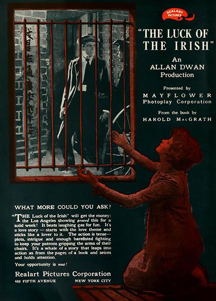 The Luck of the Irish (1920). Bizarre Los Angeles