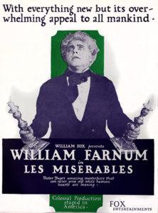 William Farnum Les MIserables