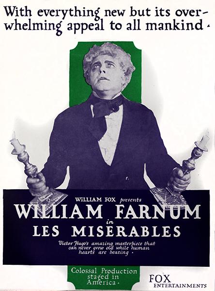 William Farnum Les MIserables