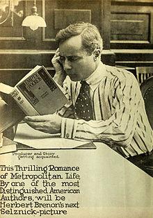 Herbert Brenon reading