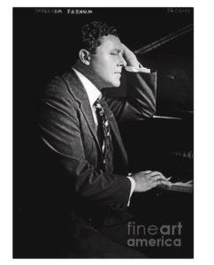 William Farnum at the piano