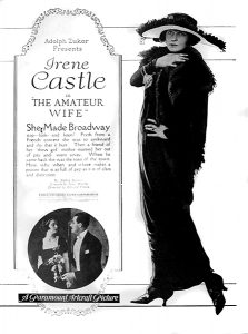 "Irene Castle in ""The Amateur Wife"" (1920). Bizarre Los Angeles"