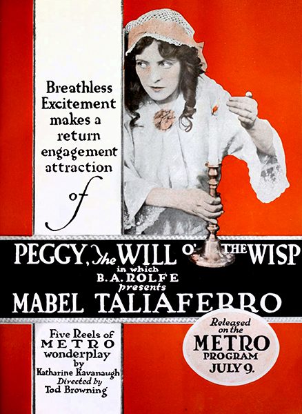 Peggy, the Will of the Wisp (1917) Bizarre Los Angeles